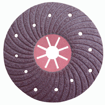 spiral grinding disc