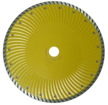 turbo waved blade